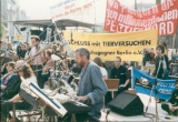 Kirchentag in Berlin, Gottesdienst gegen Tierversuche (07.1989)