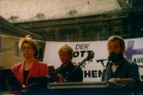 Peter Janssens beim Tierschutz-Gottesdienst, Ev. Kirchentag Berlin (1989)